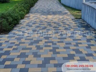 Тротуарная плитка Плац Желтаяфото 18