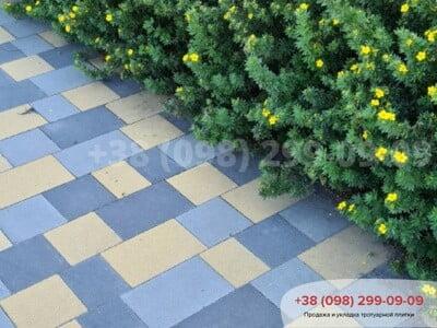 Тротуарная плитка Плац Желтаяфото 19