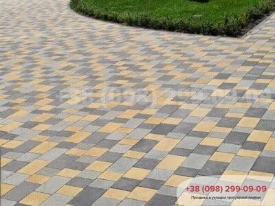Тротуарная плитка Плац Желтаяфото 21
