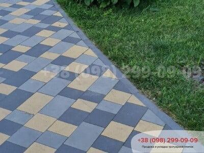 Тротуарная плитка Плац Желтаяфото 9