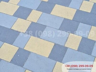 Тротуарная плитка Плац Желтаяфото 10