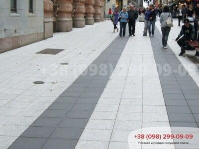 Тротуарная плитка плита 400х400 чернаяфото 1