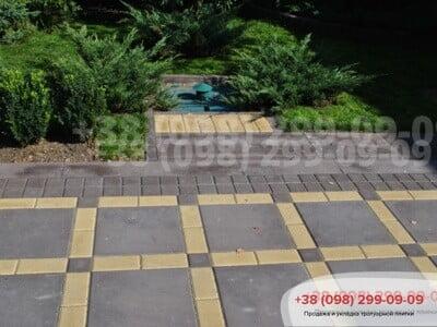 Тротуарная плитка Плита 400х400 коричневаяфото 10