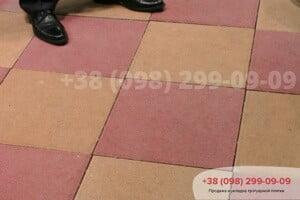 Красный Тротуарная плитка Плита 400х400 Красная