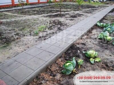 Тротуарная плитка Плита 400х400 сераяфото 8