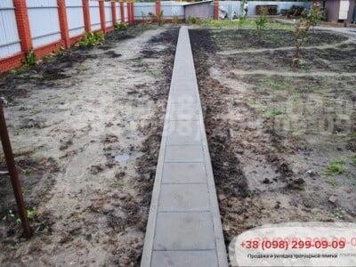 Тротуарная плитка Плита 400х400 сераяфото 7