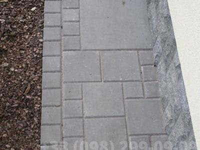 Тротуарная плитка Плита 400х400 сераяфото 3