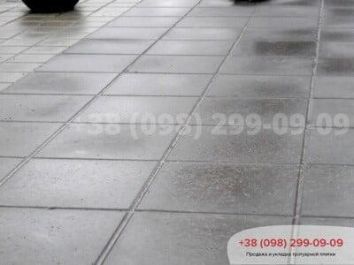 Тротуарная плитка Плита 400х400 сераяфото 4