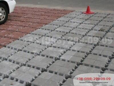Тротуарная плитка Решетка Эко Сераяфото 10