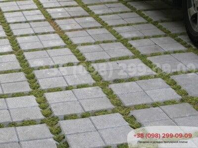 Тротуарная плитка Решетка Эко Сераяфото 3