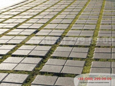 Тротуарная плитка Решетка Эко Сераяфото 1