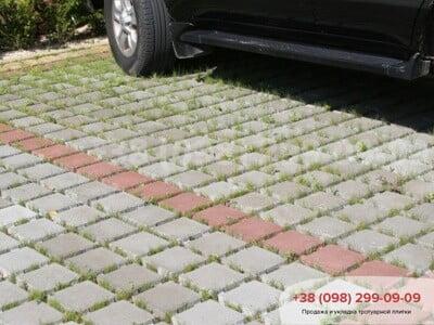 Тротуарная плитка Решетка Эко Сераяфото 5