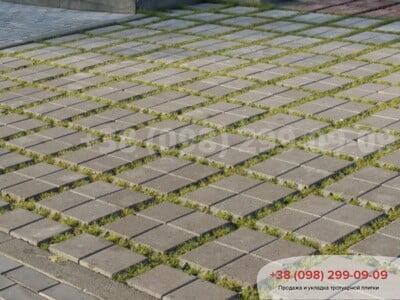 Тротуарная плитка Решетка Эко Сераяфото 7
