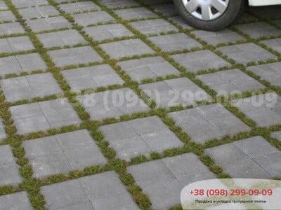 Тротуарная плитка Решетка Эко Сераяфото 8