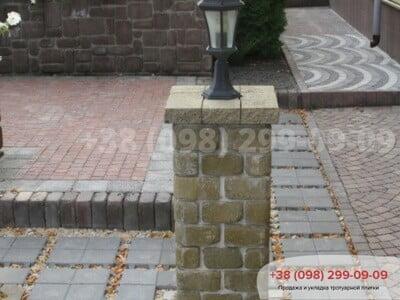 Тротуарная плитка Решетка Эко Сераяфото 9