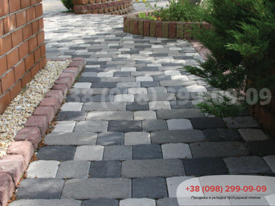 Тротуарная плитка Старая Площадь Белаяфото 3