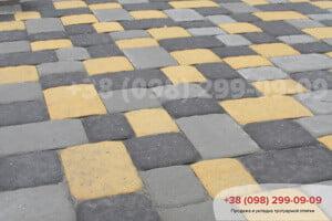Черный Тротуарная плитка Старая Площадь черная