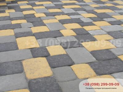 Тротуарная плитка Старая Площадь чернаяфото 1