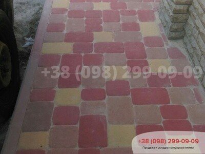 Тротуарная плитка Старая Площадь Краснаяфото 7