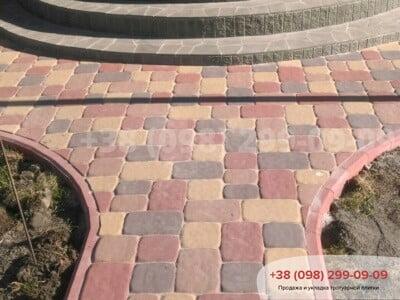 Тротуарная плитка Старая Площадь Персикфото 12