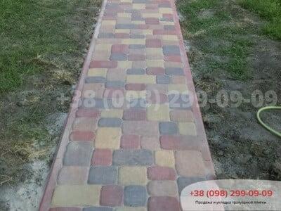 Тротуарная плитка Старая Площадь Персикфото 11