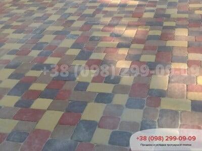 Тротуарная плитка Старая Площадь Персикфото 9