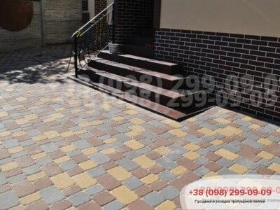 Тротуарная плитка Старая Площадь Желтаяфото 4