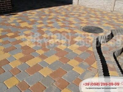 Тротуарная плитка Старая Площадь Желтаяфото 5