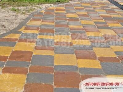 Тротуарная плитка Старая Площадь Желтаяфото 1