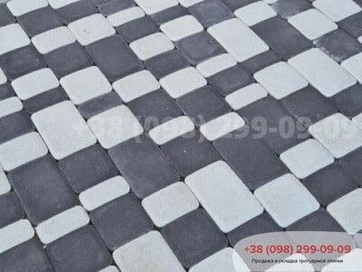 Тротуарная плитка Старый Город Белыйфото 11