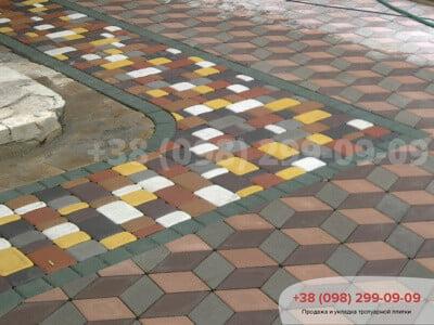 Тротуарная плитка Старый Город Белыйфото 15