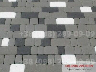 Тротуарная плитка Старый Город Белыйфото 3