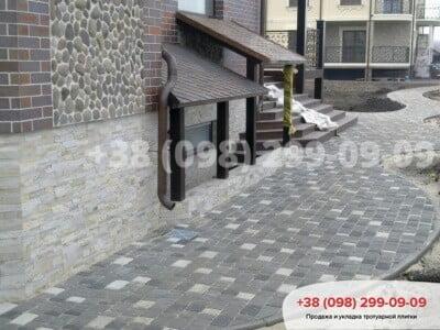 Тротуарная плитка Старый Город Черныйфото 3