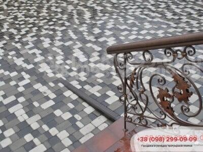 Тротуарная плитка Старый Город Черныйфото 4