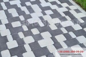 Черный Тротуарная плитка Старый Город Черный