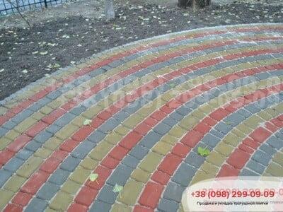 Тротуарная плитка Старый Город Горчичнаяфото 8