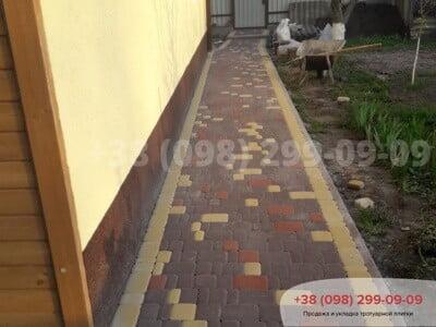 Тротуарная плитка Старый город Коричневаяфото 7