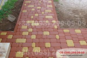Красный Тротуарная плитка Старый Город Красная