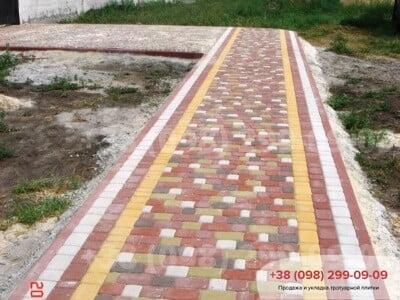 Тротуарная плитка Старый Город Красныйфото 9