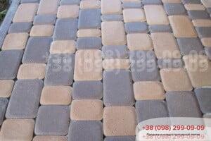 Персиковый Тротуарная плитка Старый Город Персиковая