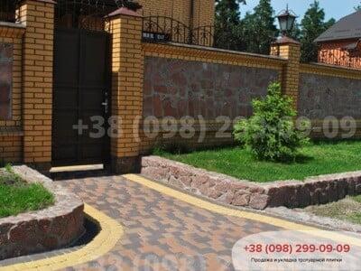 Тротуарная плитка Старый Город Персикфото 7