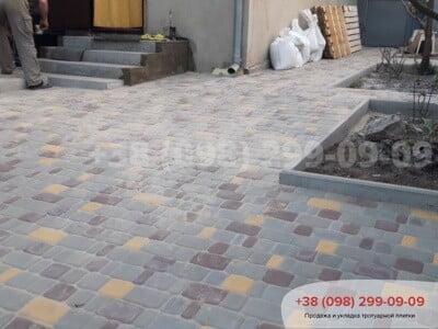 Тротуарная плитка Старый Город Сераяфото 3
