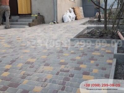 Тротуарная плитка Старый Город Сераяфото 4