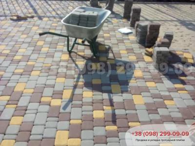 Тротуарная плитка Старый Город Сераяфото 1
