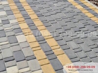 Тротуарная плитка Старый Город Желтаяфото 11