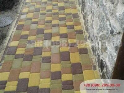 Тротуарная плитка Старый Город Желтаяфото 8
