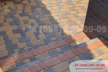 Тротуарная плитка Старый Город. Осокорки.фото 11