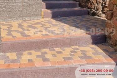 Тротуарная плитка Старый Город. Осокорки.фото 13