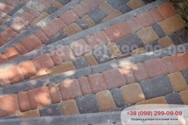 Тротуарная плитка Старый Город. Осокорки.фото 14